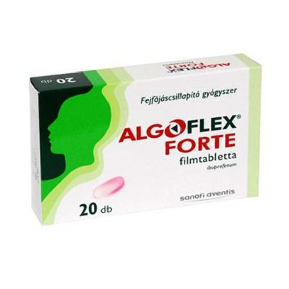 Mozsonyi Patika - ALGOFLEX FORTE / ULTRA FORTE 600MG FILMTABLETTA 20X