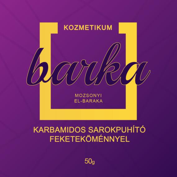 Mozsonyi Patika - BARKA SAROKPUHITÓ KARBAMID+FEKETEKÖMÉNY 50GR