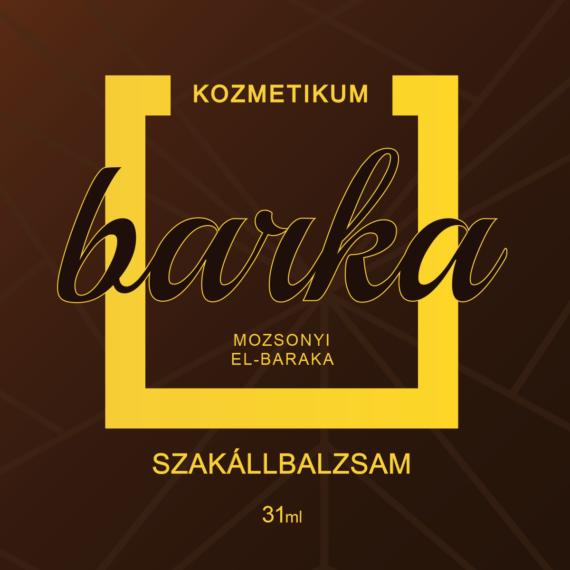 Mozsonyi Patika - BARKA SZAKÁLLBALZSAM 30GR