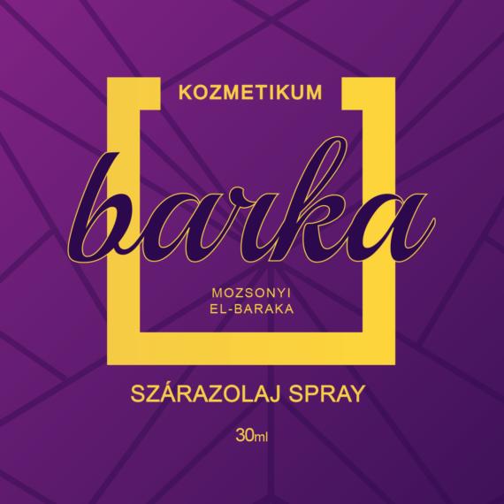 Mozsonyi Patika - BARKA SZÁRAZOLAJSPRAY 30ML