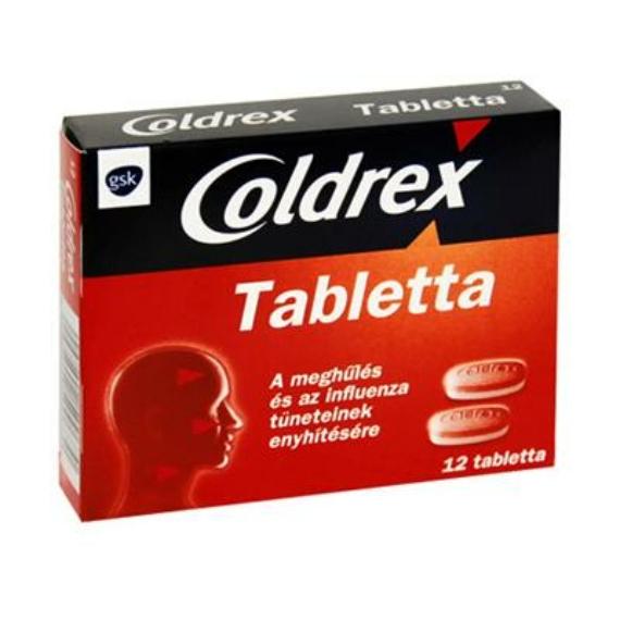 Mozsonyi Patika - COLDREX TABLETTA 12X BUB
