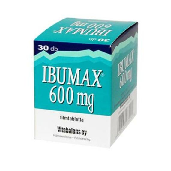Mozsonyi Patika - IBUMAX 600MG FILMTABLETTA 30X