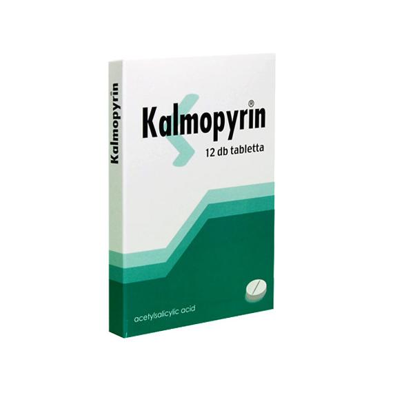 Mozsonyi Patika - KALMOPYRIN 500MG TABLETTA 12X