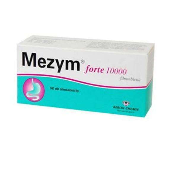 Mozsonyi Patika - MEZYM FORTE 10 000 EGYS GYNE FILMTABLETTA 50X BUB