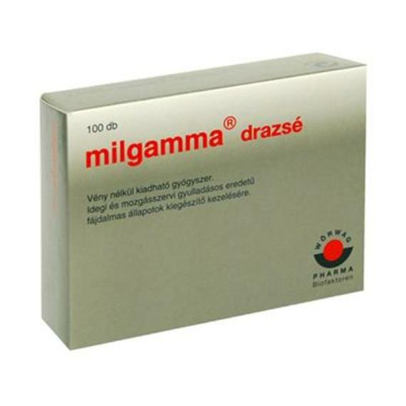 Mozsonyi Patika - MILGAMMA BEVONT TABLETTA 100X BUB