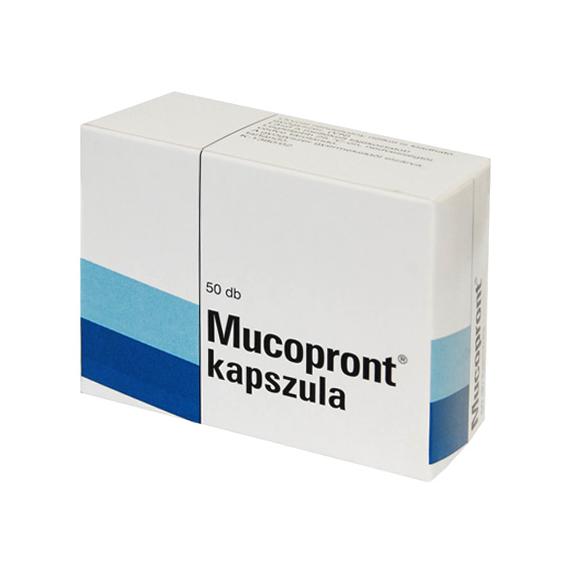 Mozsonyi Patika - MUCOPRONT KAPSZULA 50X