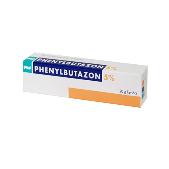 Mozsonyi Patika - PHENYLBUTAZON-RICHTER 50MG/G KENŐCS 20G