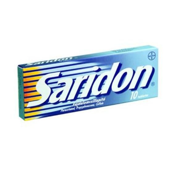 Mozsonyi Patika - SARIDON TABLETTA 10X