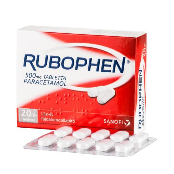 Mozsonyi Patika - RUBOPHEN 500MG TABLETTA 20X BUB