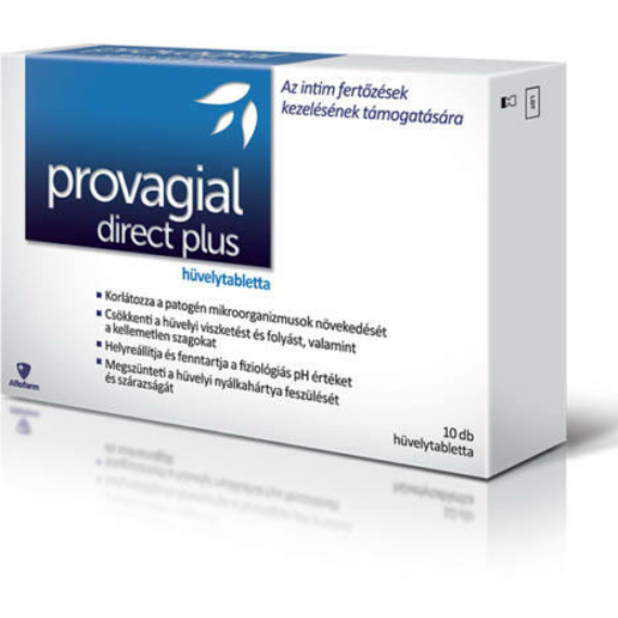 Mozsonyi Patika - PROVAGIAL DIRECT PLUS HÜVELYTABLETTA 10X