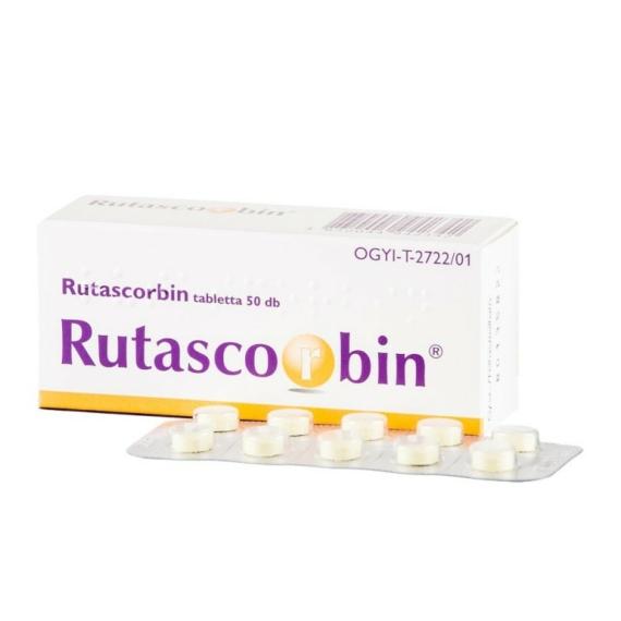 Mozsonyi Patika - RUTASCORBIN TABLETTA 50X