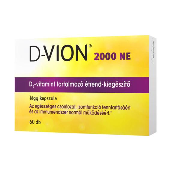 Mozsonyi Patika - D-VION D3 2000NE KAPSZULA 60X