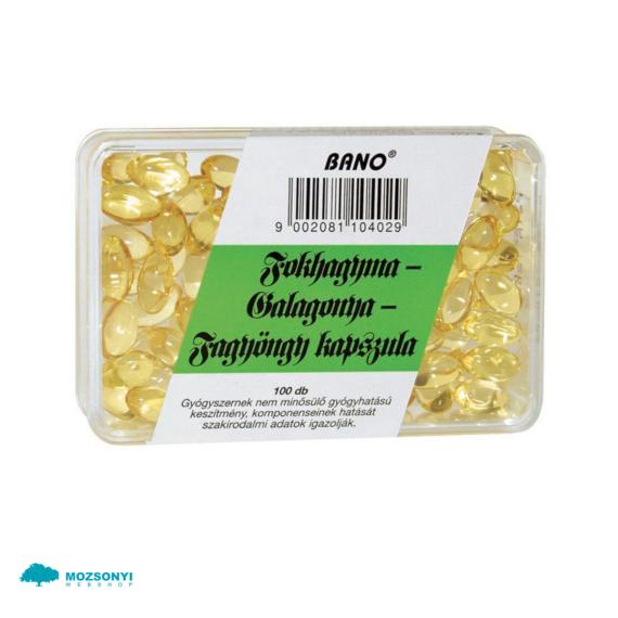 Mozsonyi Patika - BANO FOKHAGYMA-GALAG-FAGYONGY 100X
