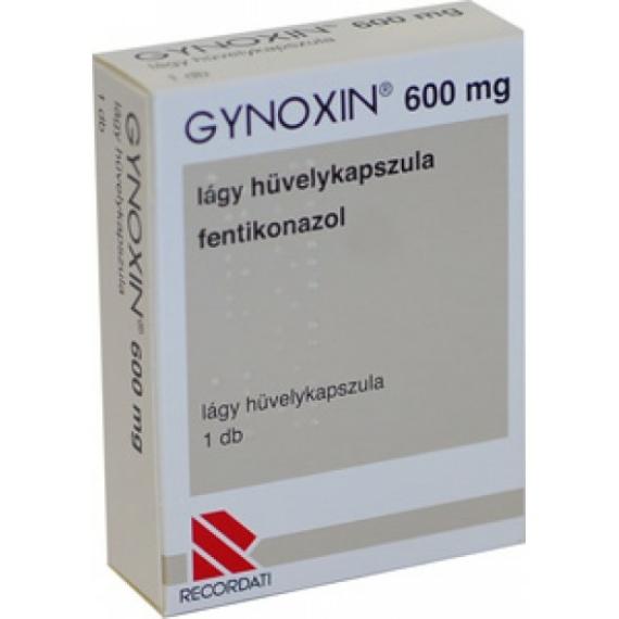 Mozsonyi Patika - GYNOXIN 600MG LÁGY HÜVELY KAP 1X BUB