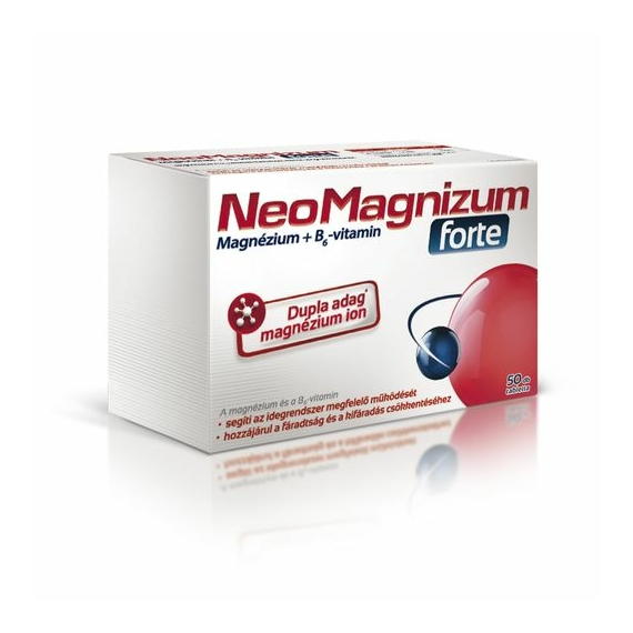 Mozsonyi Patika - NEOMAGNIZUM FORTE MAGNÉZIUM TABLETTA 50X