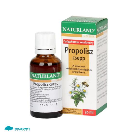 Mozsonyi Patika - NATURLAND PROPOLISZ CSEPP 30 ML